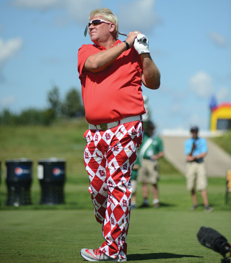 For Golf Pro John Daly, Loud Clothes And A Vibrant Spirit Are Just Half The Story