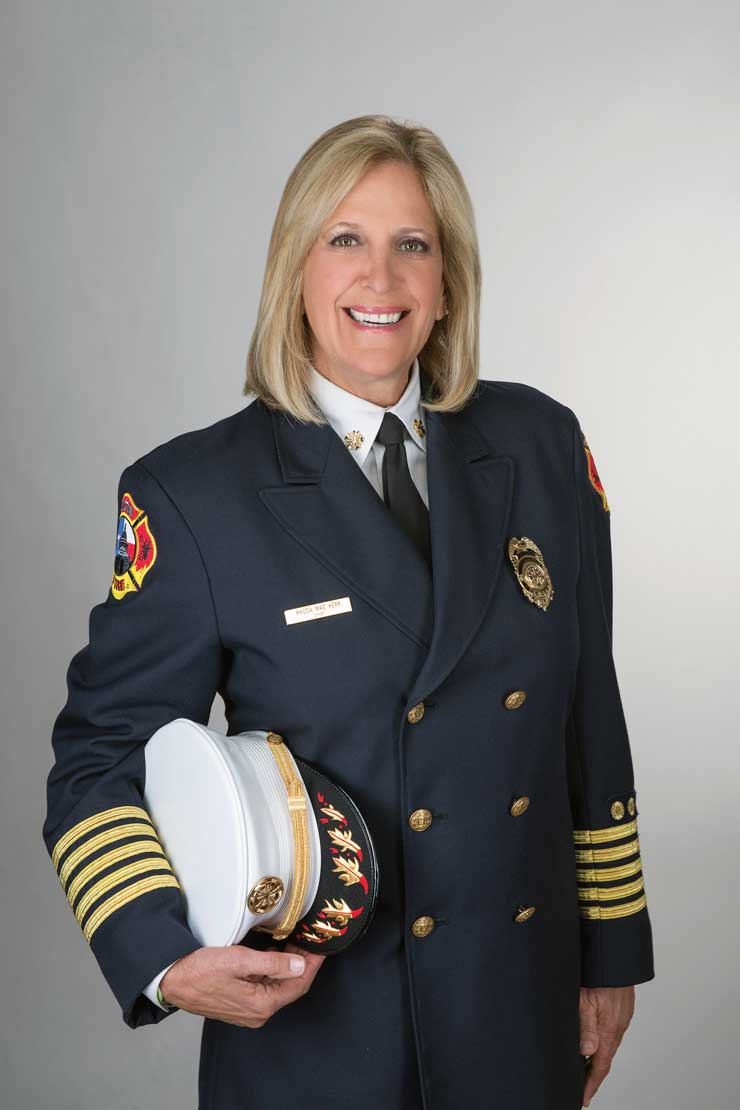 Fort Lauderdale's First Female Fire Chief Reflects On Her Career And Looks Forward To The Future