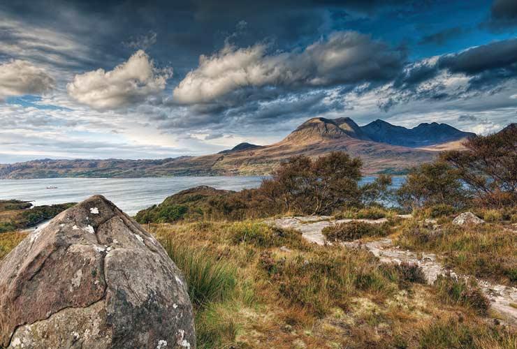 Upper Loch Torridon Scotland
