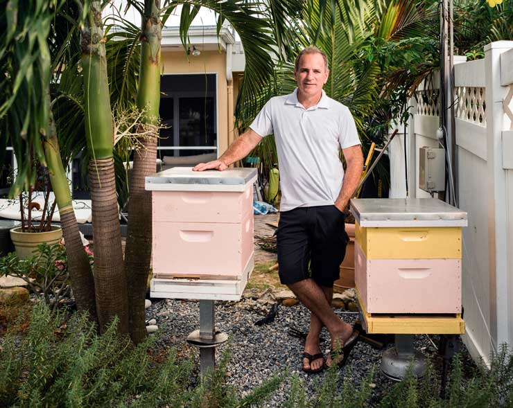 Evan McCarthy Is A Pilot With A Passion For Saving The Bees