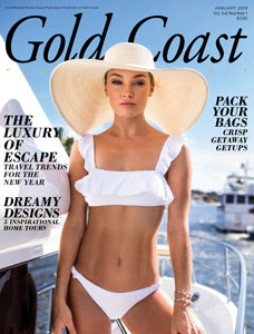 Gold Coast Magazine January 2019 Cover