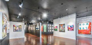 ACED Art Gallery floor in Ft. Lauderdale
