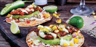 Key-lime grouper tacos