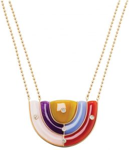 Brent Neale, Marianne necklace from The Reflections collection