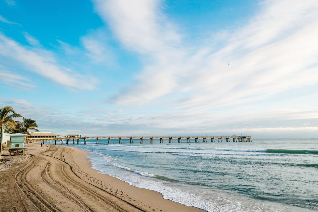 Dania Beach Pier. Photo by Anthony Rayburn