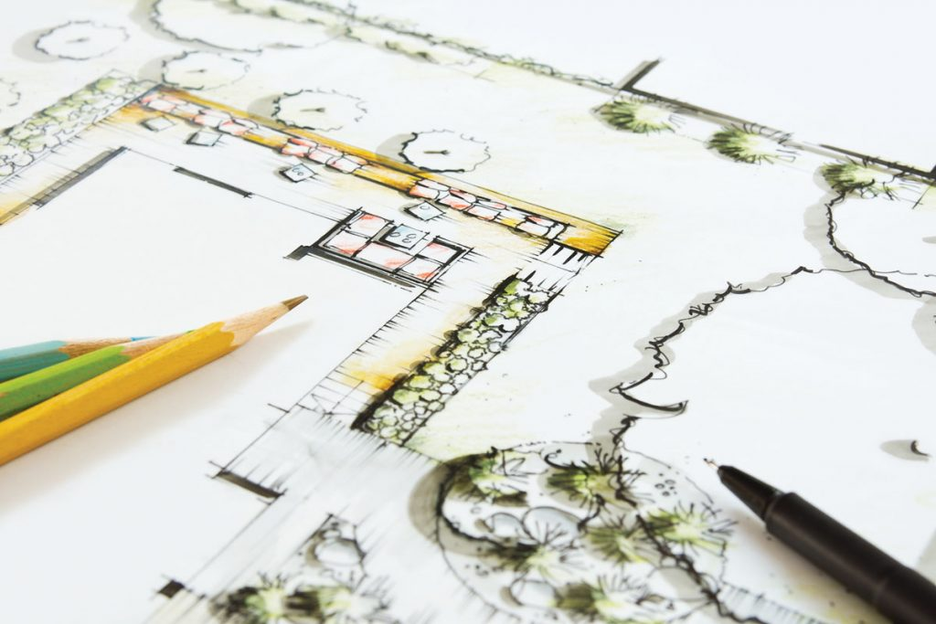 FLI Sustainable Home sketch