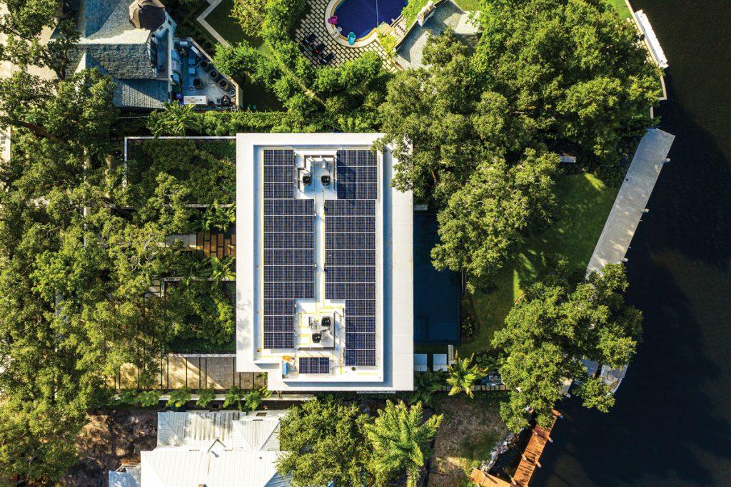 FLI Sustainable Homes, SolarRoof