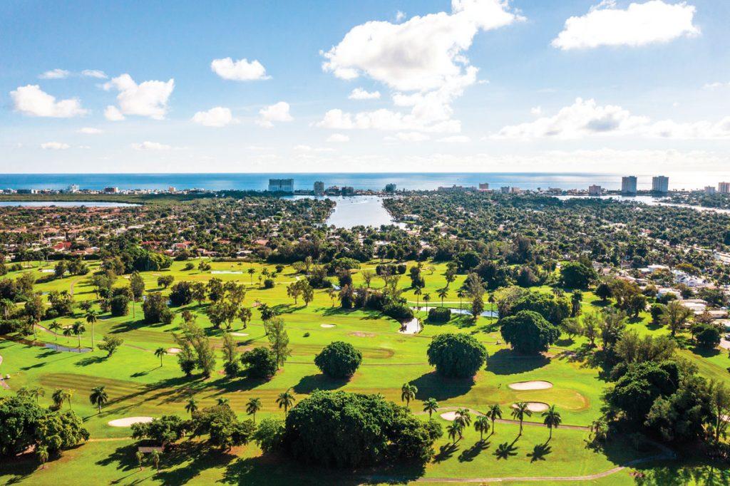 Hollywood Beach Golf Club. Photo by Anthony Rayburn