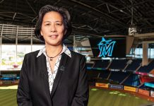 Kim Ng is Major League Baseball's first female GM, and the fifth person to lead the Marlins' baseball operations
