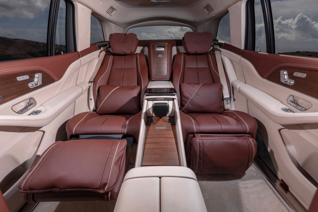Mercedes-Maybach 600GLS Rear seats