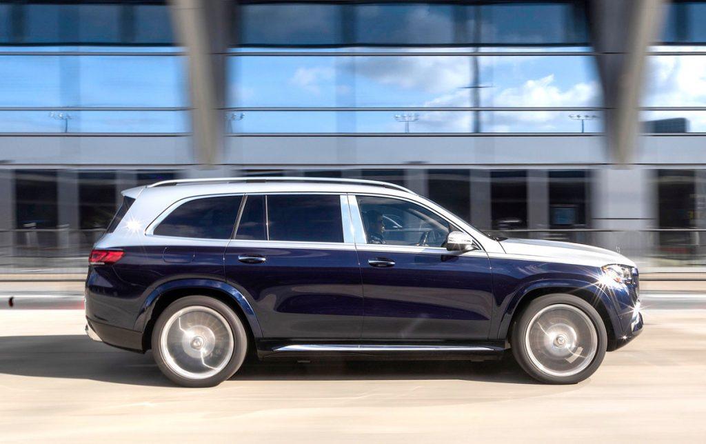 Mercedes-Maybach 600GLS Side
