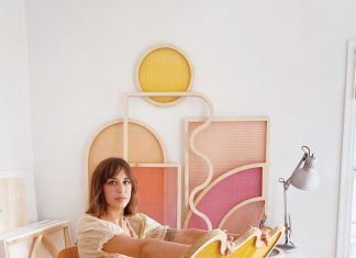 Multicolor shape screens, Hayley Sheldon, workroom 2 copy