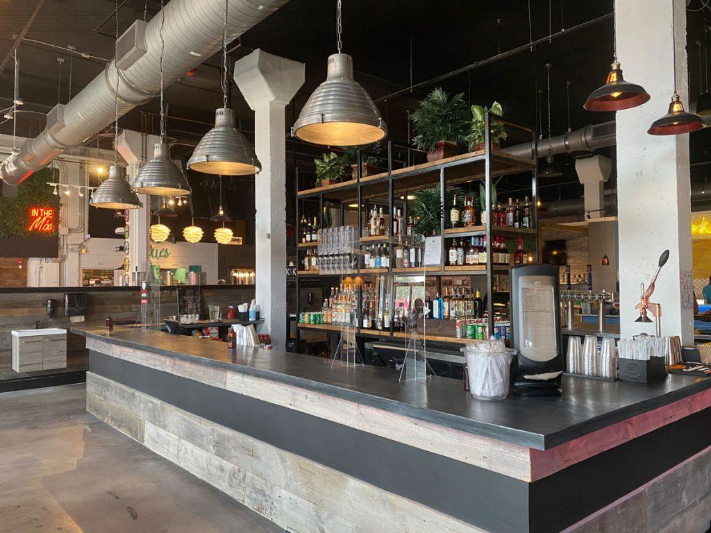 Sistrunk Marketplace & Brewery main bar