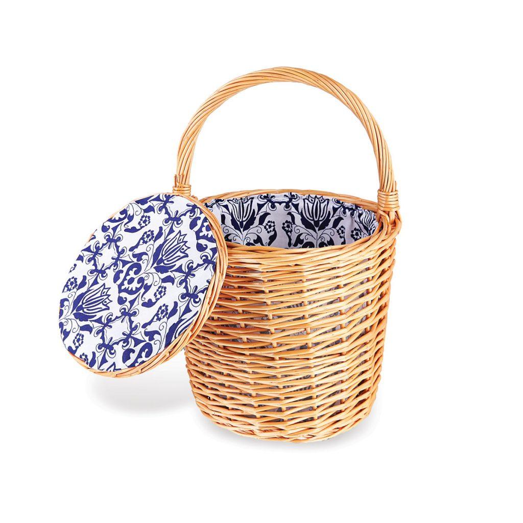 Chefanie Honey Wicker Basket
