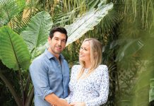 Jennifer and Omer Horev, the restaurteurs behind Pura Vida. Photography by Vanessa Rogers