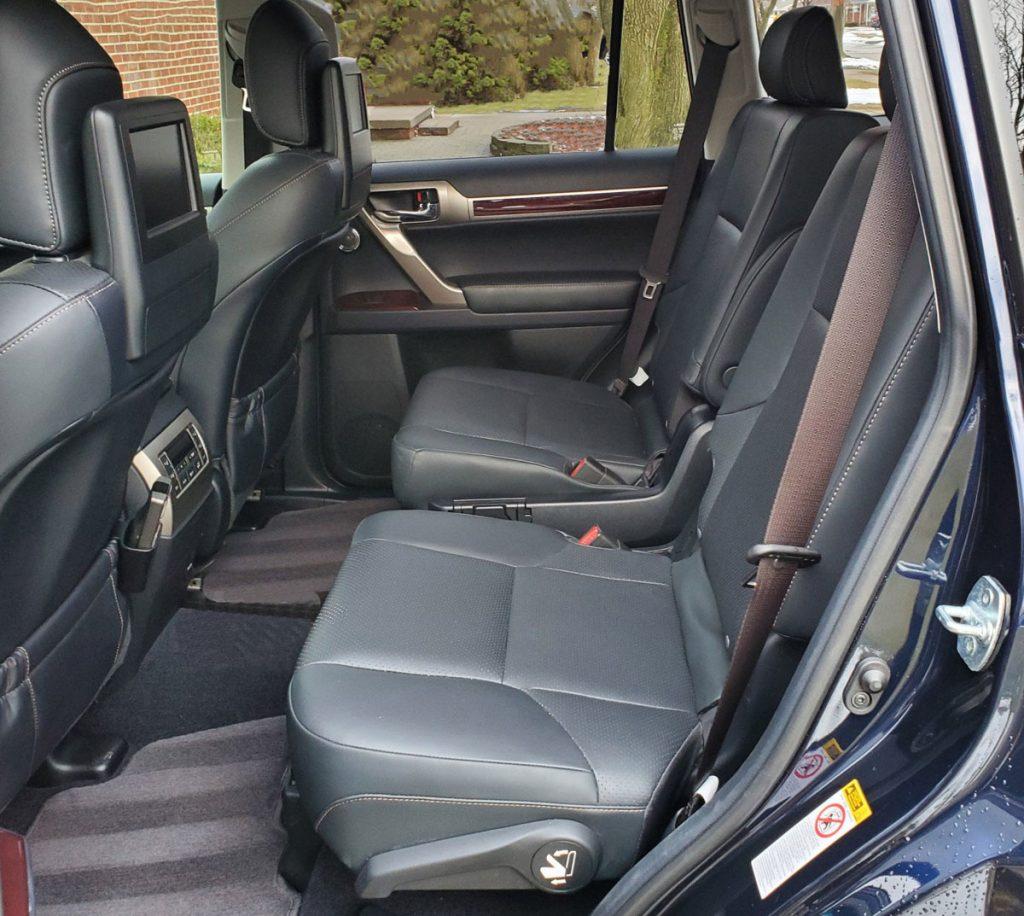 Lexus GX460 back seat