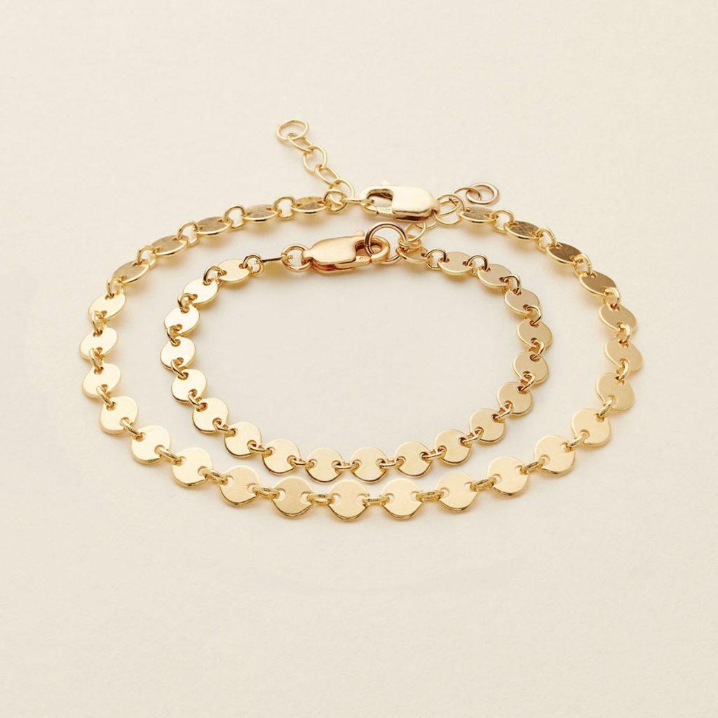 Made by Mary–designed Mama & Mini Poppy bracelet duo
