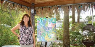 Suzanne Redmond at the Desoto Oceanview Inn