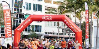 Walk Like MADD & MADD Dash Fort Lauderdale 2019 runners take off.