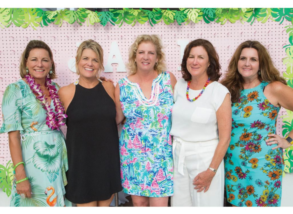 Friends of Jack & Jill Center at a previous Flip Flops on the Docks event