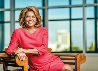 Stacy Ritter, president and CEO of Greater fort Lauderdale Convention & Visitors Bureau, Credit Nick Garcia