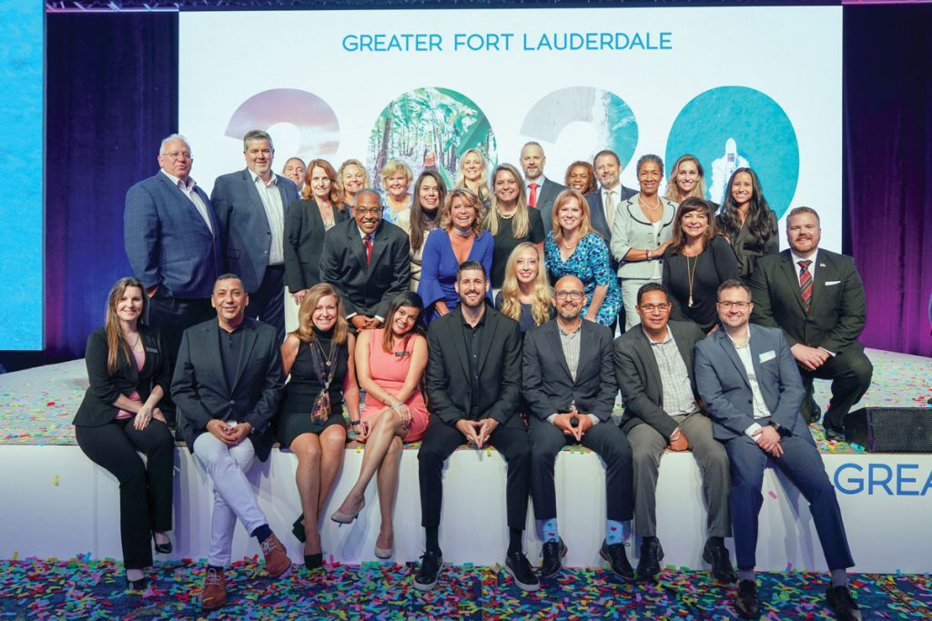 Stacy Ritter with the Greater Fort Lauderdale Convention & Visitors Bureau