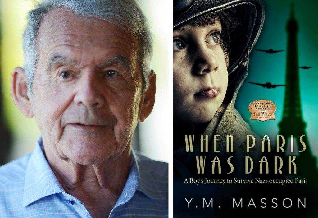 """Y.M. Masson will join the """"Meet the Author"""" series on June 10."""