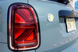 2021 Mini Cooper SE Countryman eALL4 PHEV plug-in hybrid Union Jack tail lights
