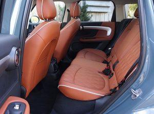 2021 Mini Cooper SE Countryman eALL4 PHEV plug-in hybrid back seats