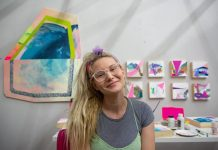 """Artist Lizzy Taber's works will be on display in ArtServe's """"Hello Summer"""" exhibition at Westfield Broward."""