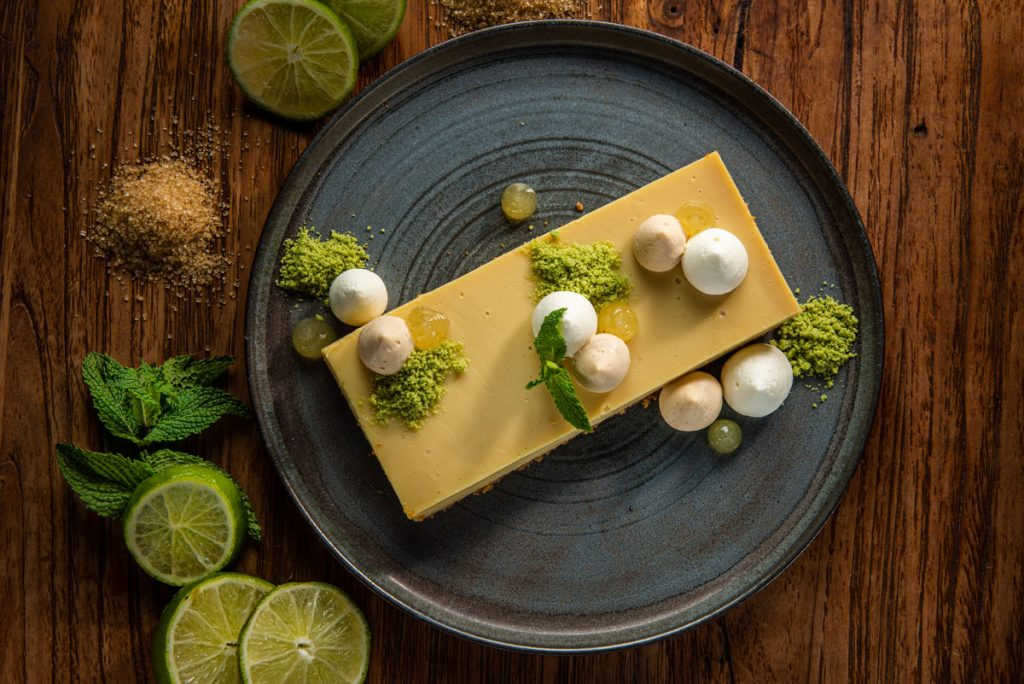 Burlock Coast Key Lime dessert<br/> Photo by RMStudio Crop