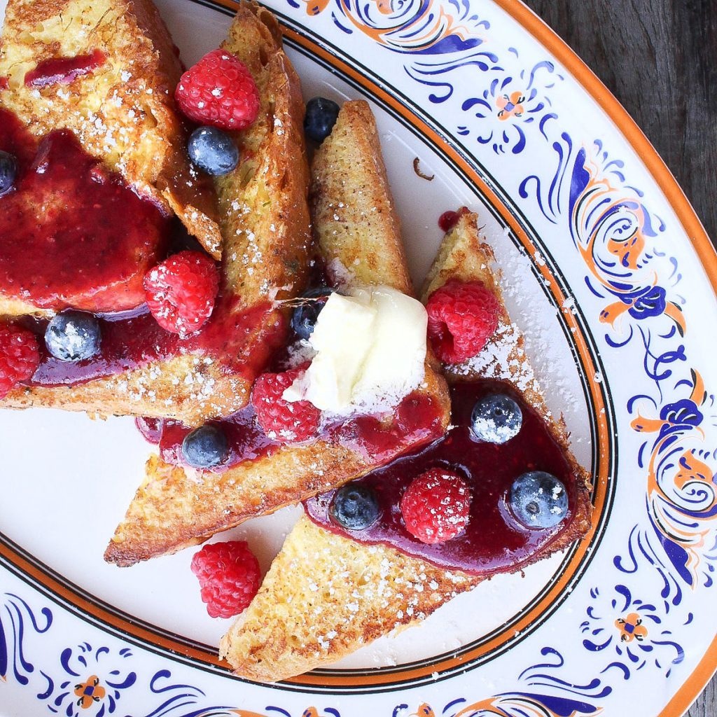 Louie Bossi's French Toast
