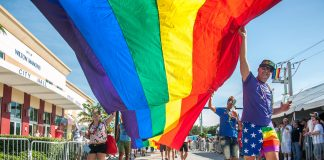 Stonewall Pride Parade in Wilton Manors
