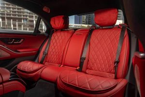 2021 Mercedes-Benz S-Class sedan back seats
