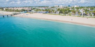 LBTS Ocean to Beach with Pier, Courtesy The Town of Lauderdale-By-The-Sea