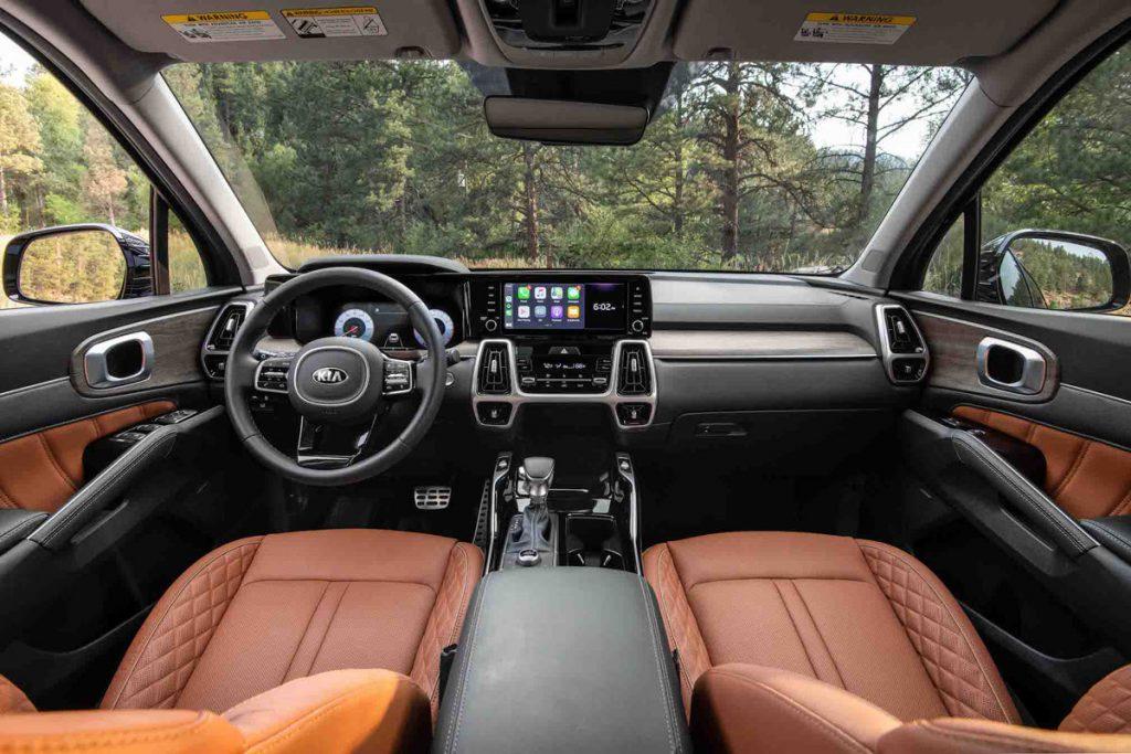 Kia SUV Interior