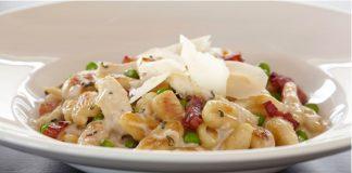 Hone your cooking skills and sample delicious proprietary recipes including Gnocchi Carbonara.