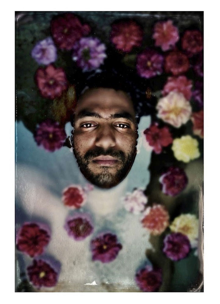 Man and Flowers, Maggie Steber