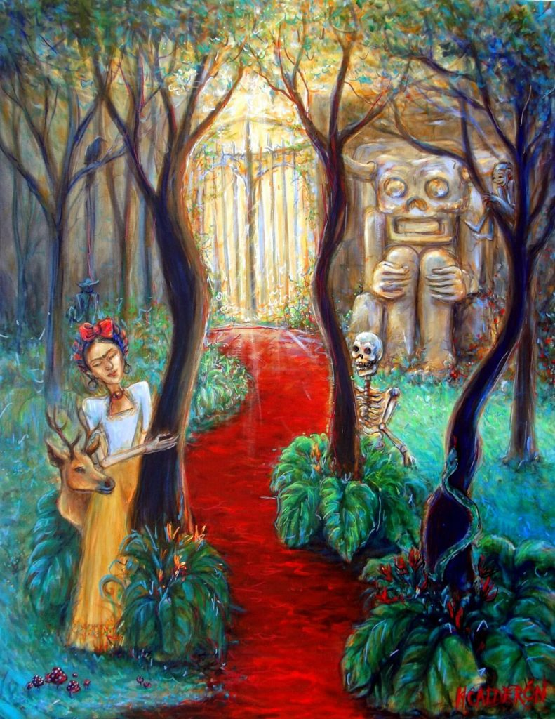 """Frida and the Red Road by Heather Calderon will be on display as part of """"Inspiración Frida."""""""