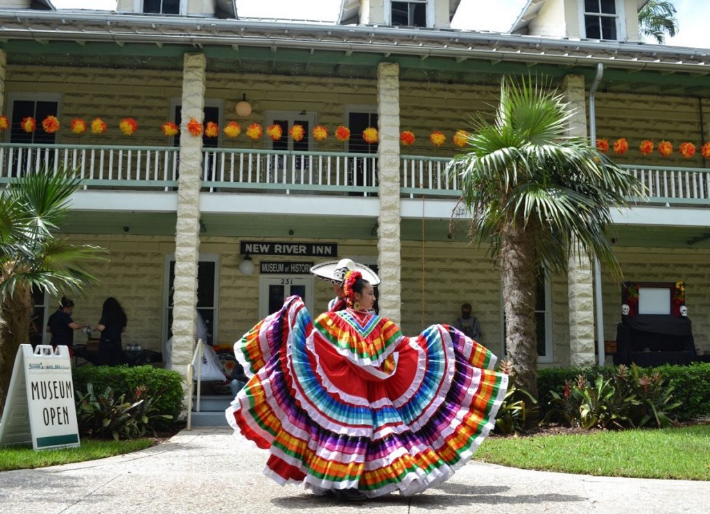 """Guests can enjoy a variety of cultural performances, puppetry, a fine art exhibit at """"Ofrendas."""""""