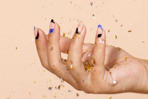 Mindful Mani nail art